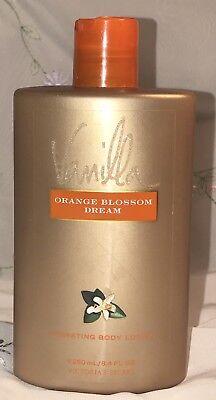 USED Victorias Secret Hydrating Body Lotion Vanilla Orange Blossom Dream 8.4 oz