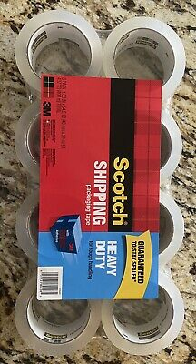 Scotch Heavy Duty Shipping Tape 3m 8pack