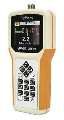 RigExpert AA-35 Zoom Antenna Analyzer .06 to 35 MHz New in Box Guaranteed