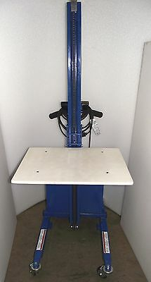 Vestil Pel-88 Steel Quick-lift Table Ac Charged Battery With Warranty