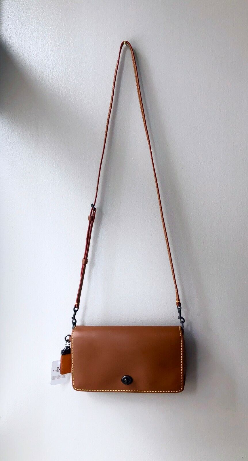 Sold Out NWT Coach 1941 DINKY Saddle Glovetaned Leather Shou