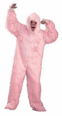 LOVE MONKEY PINK GORILLA MASCOT PLUSH OVERSIZE ADULT UNISEX HALLOWEEN COSTUME B1](Pink Gorilla Suit)