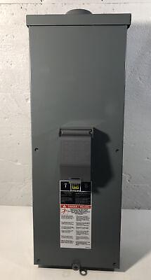 New Square D Qom2e2200nrb 200a Outdoor Weatherproof Circuit Breaker Enclosure