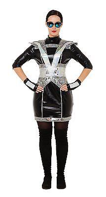 Futuristische Polizei Lady Kostüm, Frauen Kostüm #DE