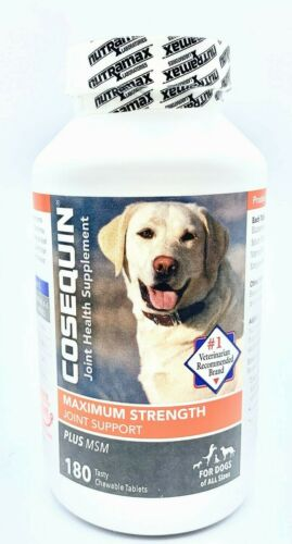 Cosequin For Dogs, Joint Health, DS Plus MSM - 180 Tablets