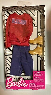 Barbie Ken Doll Clothes Accessories Complete Fashionistas Outfit NEW Malibu Top