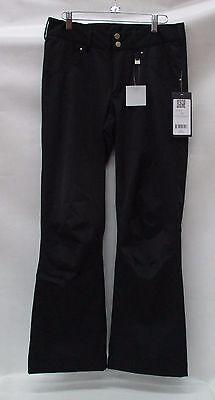 Nils Womens Barbara Stretch Ski Pants 3400P Black Size 8/Pet