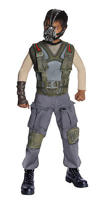 Bane Deluxe Child Boys Costume  Brown Muscle Jumpsuit Halloween Dress Up Rubies - Bane Baby Costume