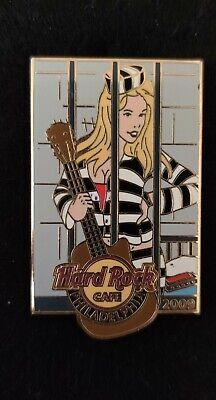 Usado, Hard Rock Cafe Pin Philadelphia 2009 Sexy Prison Girl LE 300  segunda mano  Embacar hacia Mexico