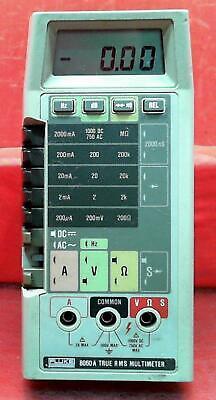 Fluke 8060a 5545436 True Rms Multimeter