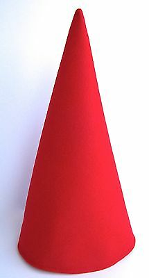 EXTRA TALL Red Gnome Elf Dwarf Birthday Party Hat Mardi Gras Wirt Cosplay Caps! - Red Party Hat