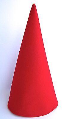 EXTRA TALL Red Gnome Elf Dwarf Birthday Party Hat Mardi Gras Wirt Cosplay Caps! - Elf Birthday