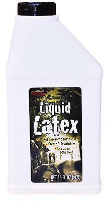 16 OZ LIQUID LATEX MOLDS RUBBER FLESH MASKS PROSTHETICS HALLOWEEN COSTUME FW9610