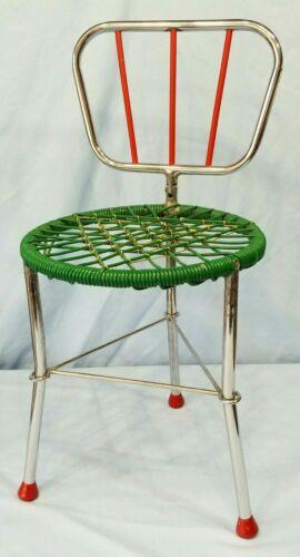 Vintage Doll Folding Chair 3 Legged