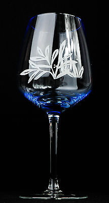 onic Gläser, Ballonglas, Cocktailglas, blaue Eingebung (Blau Cocktail Gläser)