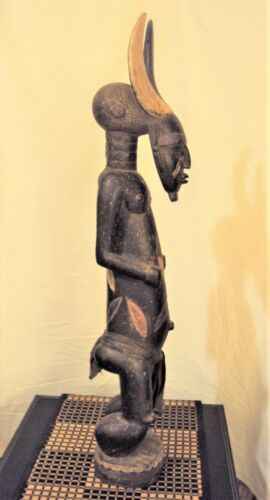"""31"""" DENGESE POWER STATUE African Carving EXTREMELY RARE!!"""