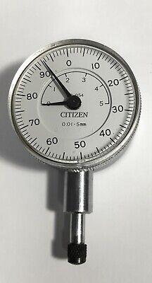 Citizen Ob-054 Dial Indicator 0-5mm Range 0.01mm Graduation