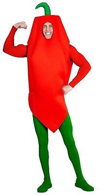 Hot Pepperoni Kostüm für Erwachsene NEU - Herren Karneval Fasching Verkleidung - Neue Kostüm Für Erwachsene
