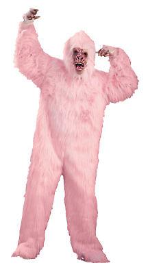 Pink Gorilla Lustig Humorvoll Erwachsene Kostüm Affe Komisch Öffnungen Halloween