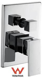 NEW ON SALE - Chrome Bathroom Shower Wall Mixer Diverter w/ Wate Silverwater Auburn Area Preview