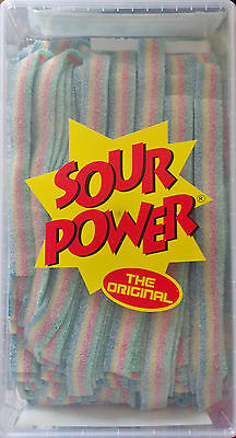 Sour Power Quattro Multi-Flavored Peelable Candy Belts 150 count Dorval*