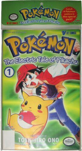 Pokemon Electric Tale Of Pikachu Comic 1 2 3 4 Viz Sealed New Vintage 1999 MINT