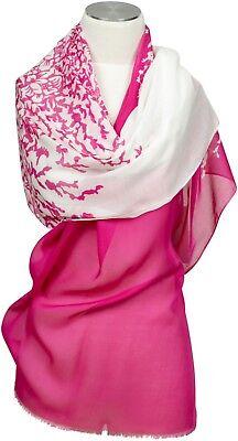 Floral Bedruckte Schal ( Schal 100% Modal leicht, bedruckt Sommer  stole summer Pink Floral)