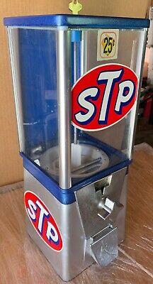 Vintage Older Oak Acorn STP Retro Gumball Machine Super Cool