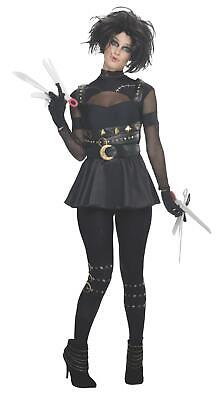 Miss Edward Scissorhands Adult Sexy Costume Size