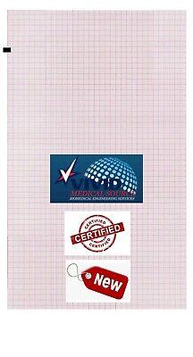 Welch Allyn 105353 Ekg Ecg Chart Paper Cp100 Cp200 - 200pk New
