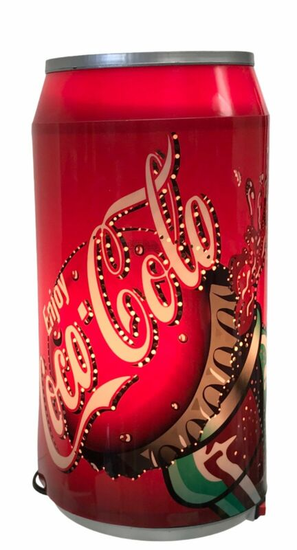 """Vintage Vogue Coca Cola Rotating Lamp 11 X 5"""" With Box Condition Is Very Good"""
