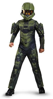 ngen Halo Master Chief Videospiel Kostüm für Karneval S - XL (Master Chief Kinder)