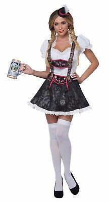 Flirty Fraulein Adult Oktoberfest Beer Maid Adult Costume - Flirty Costumes