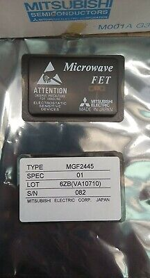 Mitsubishi Mgf2445 Microwave Power Gaas Fet Mgf2445a