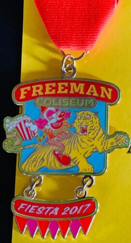 Official Freeman Coliseum Fiesta Medal 2017