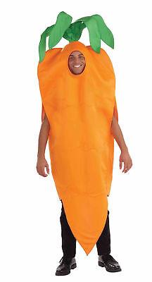 Adult Carrot Costume Unisex Food Vegetable Halloween Men Women Mascot Orange](Vegetable Mascot Costumes)
