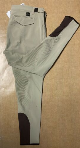 FITS Mens Hudson Woven Knee Patch Breeches
