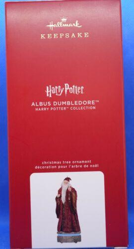 2020 Hallmark Keepsake Harry Potter Collection Albus Dumbledore Ornament With Li