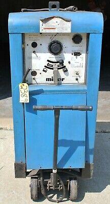 Miller Welder 330abp 440220 Volt Mig - Tig - Stick Acdc Welding