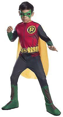 Rubies Robin Dc Comics Batman Gotham Kinder Jungen Halloween Kostüm 610828