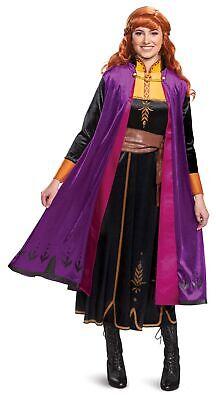 Anna Costume Adult (Disney Frozen II Anna Deluxe Adult Women's Costume Dress Licensed)