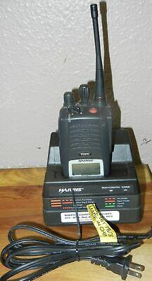 Harris P5400 Hand Held Radio W Charger Batteryantenna Maev-c81xx 800
