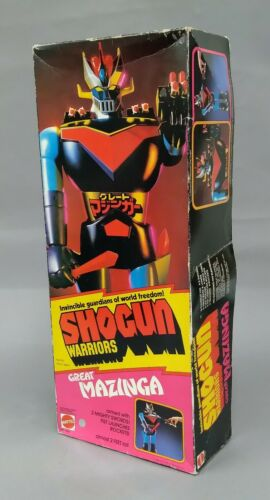 1970s Mattel Shogun Warriors Great Mazinga Robot Box Only