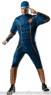 X-Men Cyclops Adult Muscle Deluxe Costume Standard Size - Cyclops Kostüme