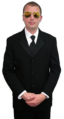 42R Halloween Costume Tuxedo Jacket Blues Brothers Men in Black Politician Pimp