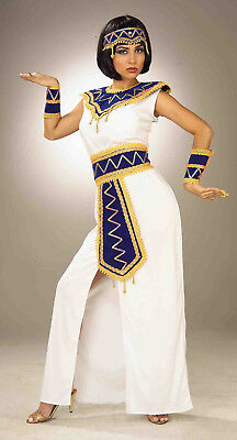 Princess of Pyramids Cleopatra Costume Egyptian Queen Adult Standard Size  ](White Cleopatra Costume)