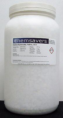 Sodium Hydroxide Pellets Acs 97 2.5kg