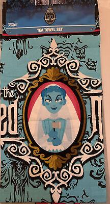Disney The Haunted Mansion 2 Tea Towel Set Constance Hatchaway Ax Bride Funko