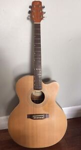 Stage acoustic electric guitar Solid spruce top