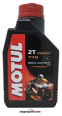 Aceite Moto 2T Mezcla PREMIX 100% sintetico Ester MOTUL 710 2T, 1...